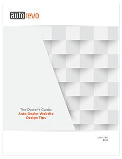 The Dealer's Guide: Auto Dealer Website Design TIps