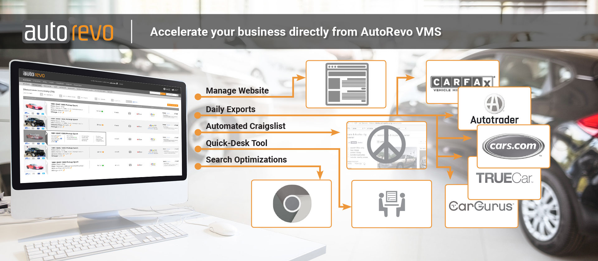 Accelerate your business with AutoRevo VMS